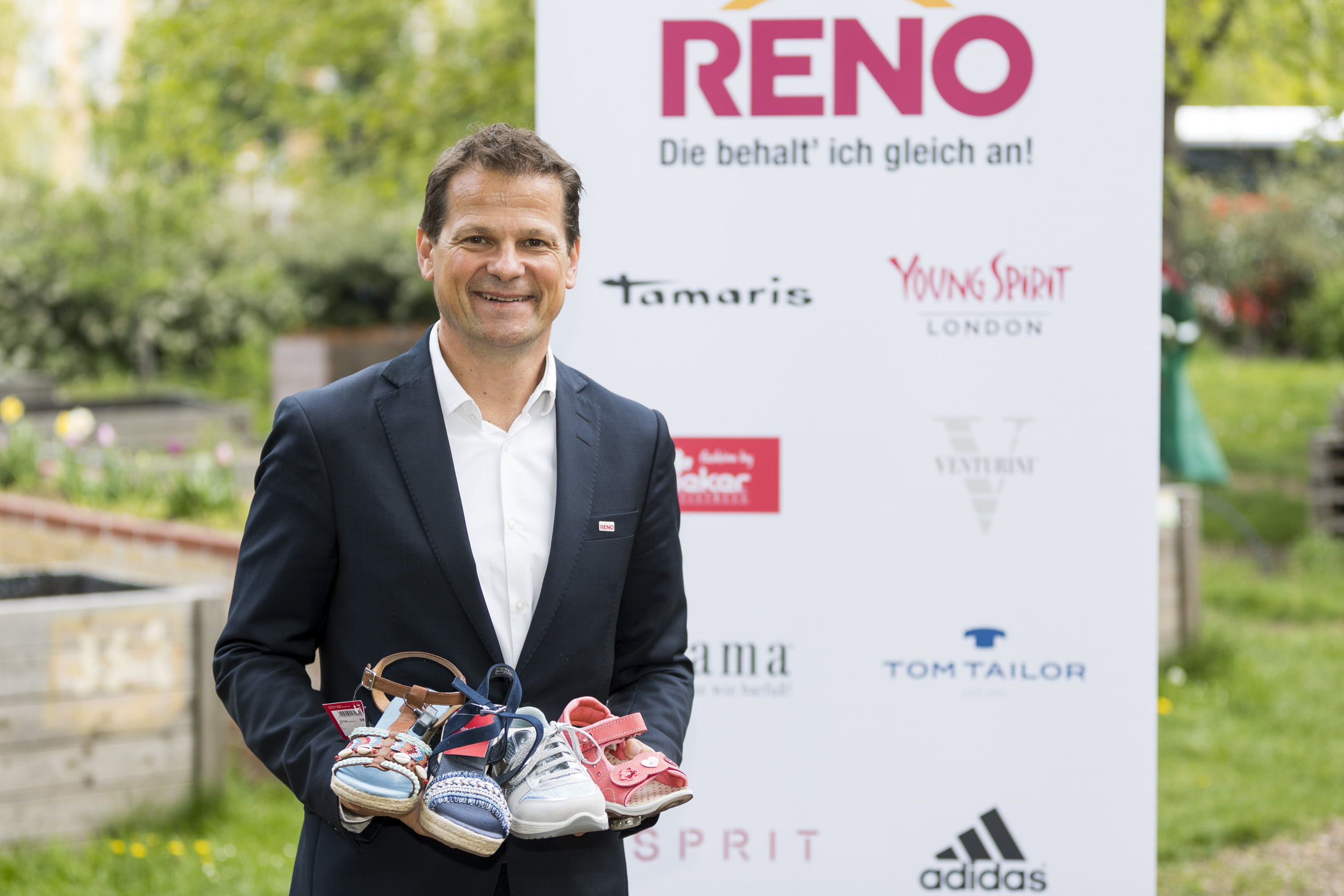 33 Jahre Reno Schuhe: Alles wird neu in Österreich